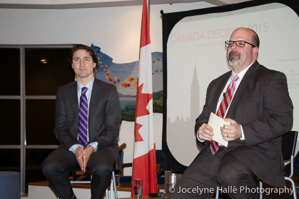 CIJA Town Hall 2014 with the leader of the Liberal Party, Justin Trudeau (Tuesday, December 16, 2014)