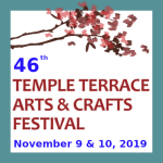 46th Temple Terrace Arts & Crafts Festival - November 9 & 10, 2019