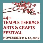44th Temple Terrace Arts & Crafts Festival - November 11 & 12, 2017