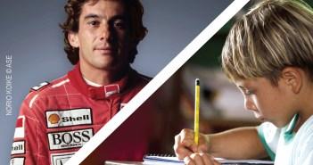 Ayrton Senna e Instituto são homenageados em exposição no Metrô de São Paulo