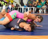 Giullia Penalber embarca para a disputa do Pan-Americano de Wrestling