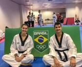 O casal do Taekwondo embarca para a disputa do primeiro Grand Prix do ano