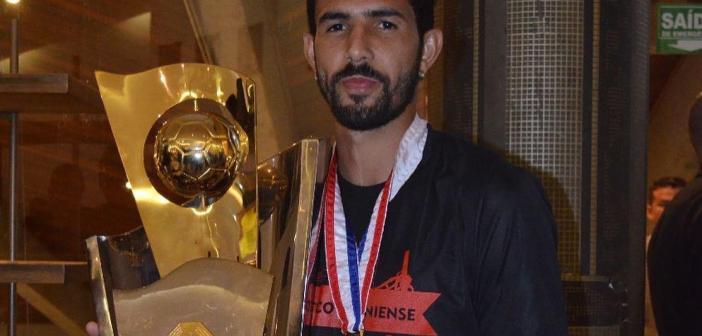 Jonathan completa três anos de Atlético Goianiense: 'Tenho orgulho de defender essas cores'