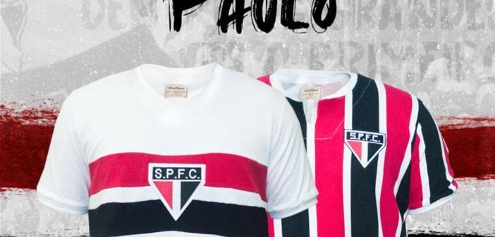 RetrôMania e São Paulo FC lançam camisas comemorativas alusivas a feitos históricos do Tricolor