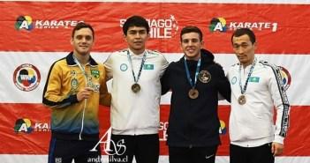 A poucos meses para a Olimpíada, carateca Douglas Brose conquista medalha de prata em etapa da Liga Mundial e mantém sonho vivo