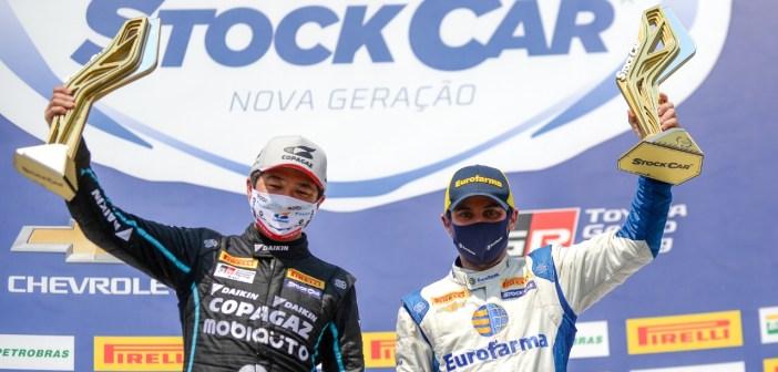 Com vitórias de Suzuki e Ricardo Maurício, Barrichello sai lider de Londrina