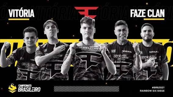 Com direito a 'partida perfeita', FaZe Clan retoma a liderança do Campeonato Brasileiro de Rainbow Six Siege 2021