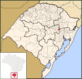Localização no estado