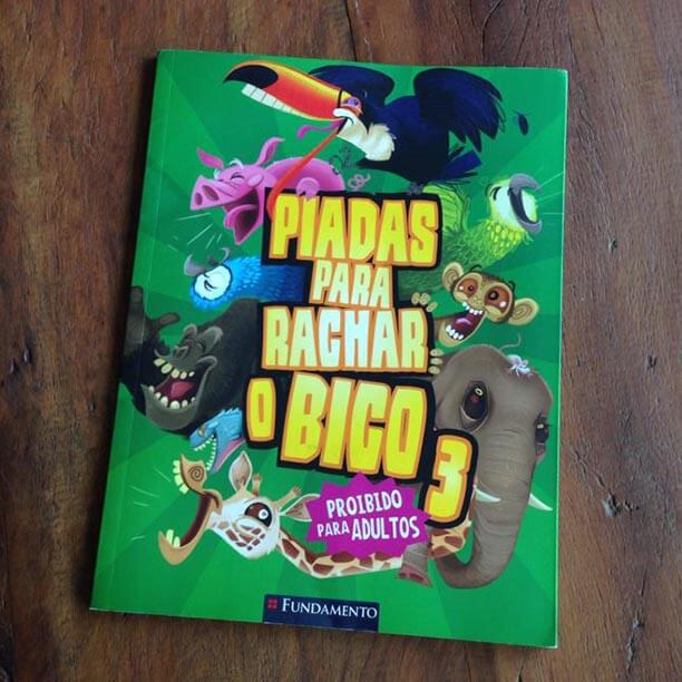 Livro de piadas para criancas. Já tem o seu?