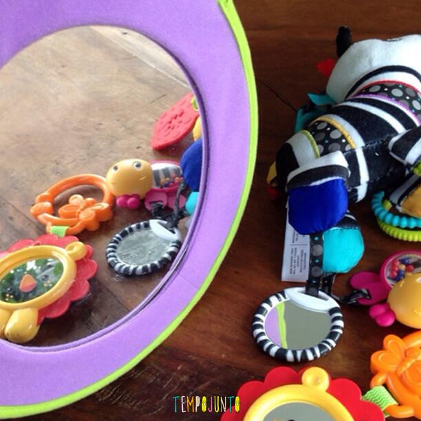 Atividades para bebês de 0 a 6 meses – #3 - espelhos