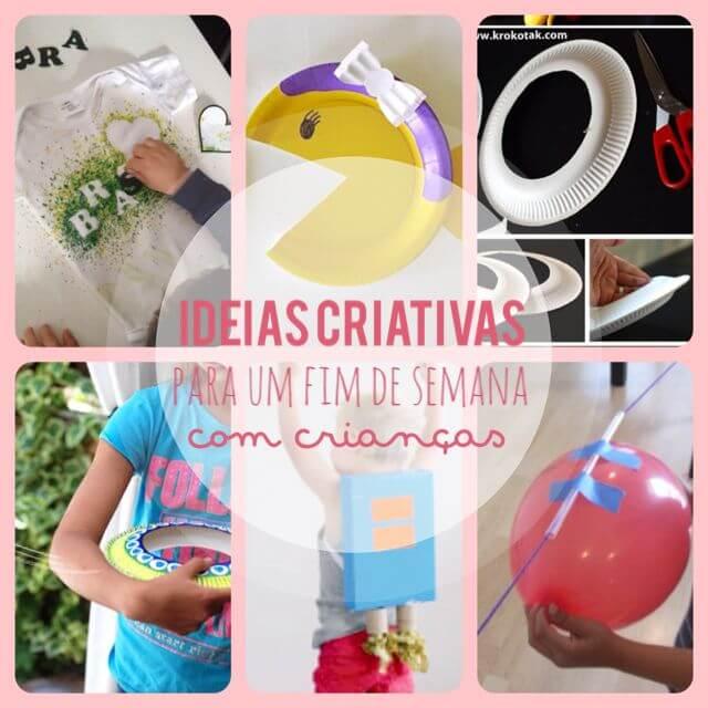 Ideias para um fim de semana criativo #04