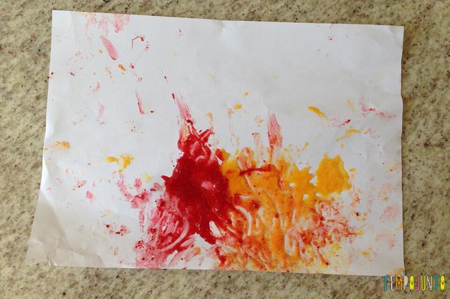 A primeira arte da Gabi