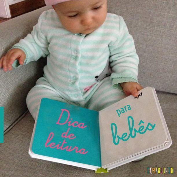 A dica de leitura de hoje é para os bebês