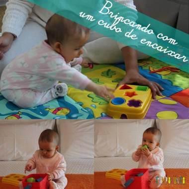 Como brincar com seu bebê do Jogo de Encaixar Peças
