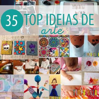 As 35 melhores ideias de atividades artísticas para crianças