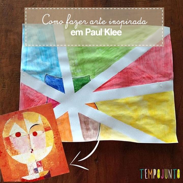 Oficina de Artes para crianças: aprenda com Paul Klee
