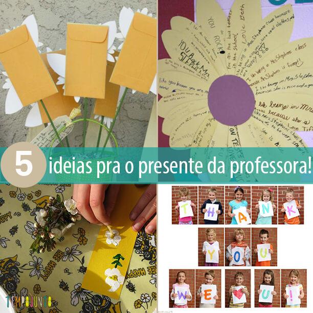 Como fazer um presente criativo e simples para os professores