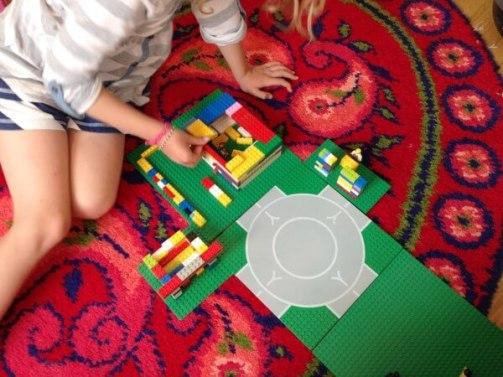 Ideias de fim de semana Casa de lego