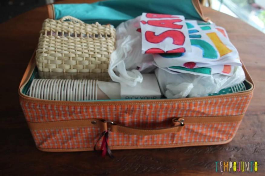 mala de festa de aniversário em casa, atualmente
