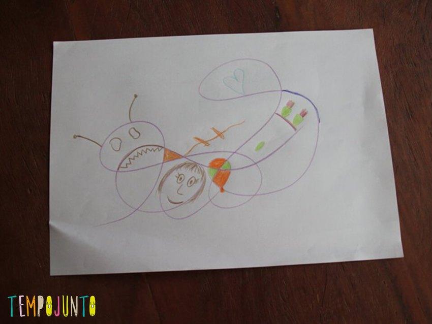 outra versão do desenho asbtrato