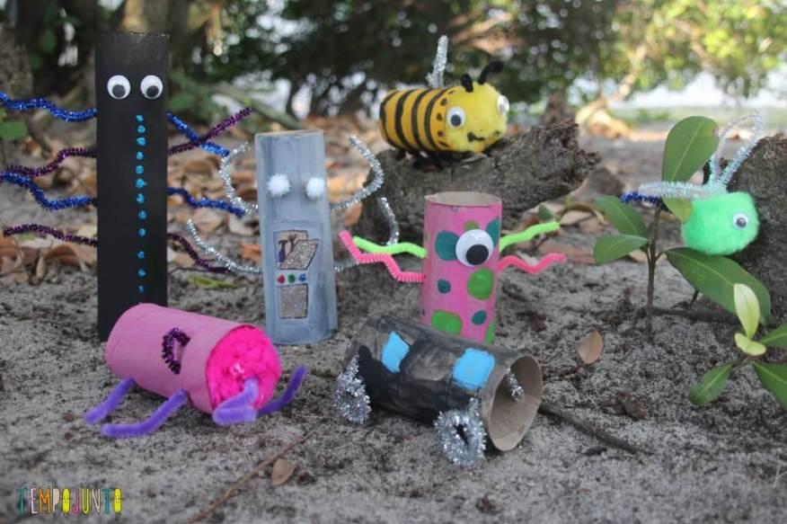 ideias criativas com rolo de papel higiênico - Resultado