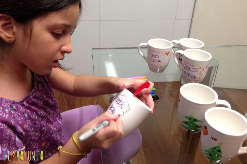ideias de artesanato de natal para fazer em casa - carol desenhando a caneca