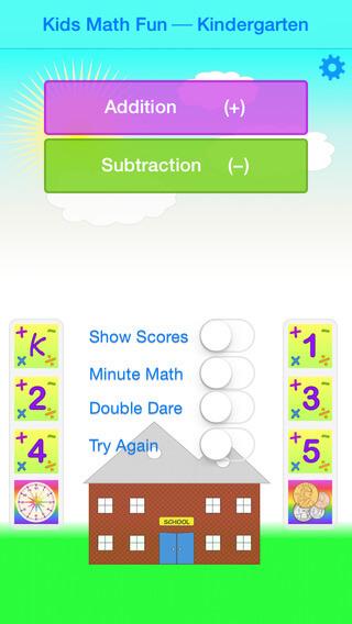 apps para volta às aulas - math fun kids