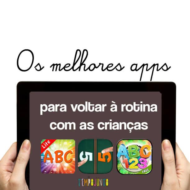 apps para volta às aulas