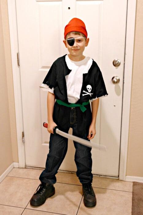 Fantasias de Carnaval para fazer em casa - Pirata