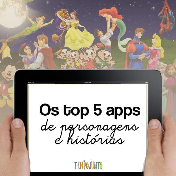 apps para crianças no mundo da fantasia
