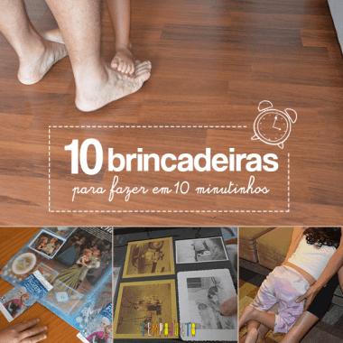 Só 10 minutinhos: mais 10 atividades