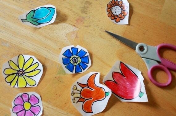 10 ideias criativas para brincar com papel contact - adesivo de contact