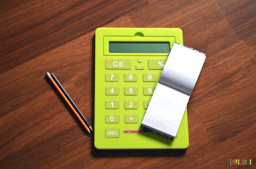 Brincar de faz de conta - calculadora