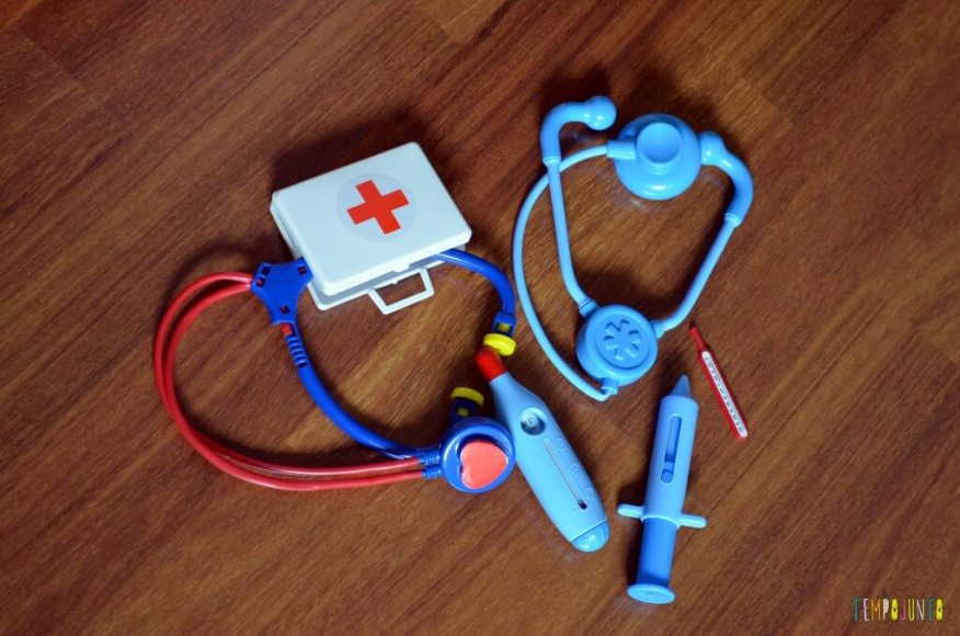 Brincar de faz de conta - kit medico