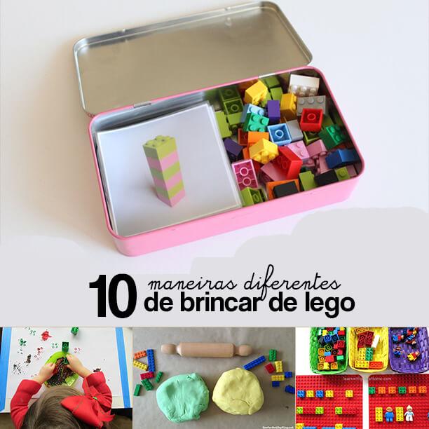 Mais 10 maneiras diferentes de brincar de Lego
