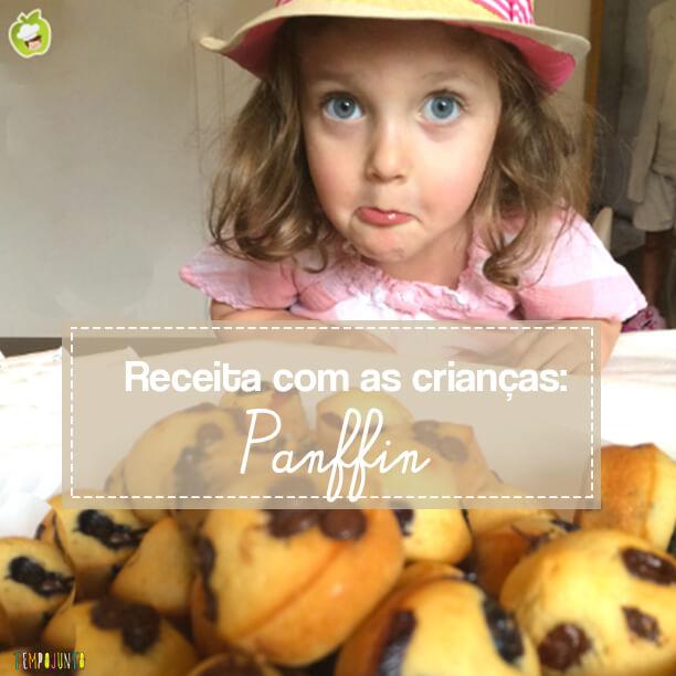 Receita com crianças: um panffin delicioso!