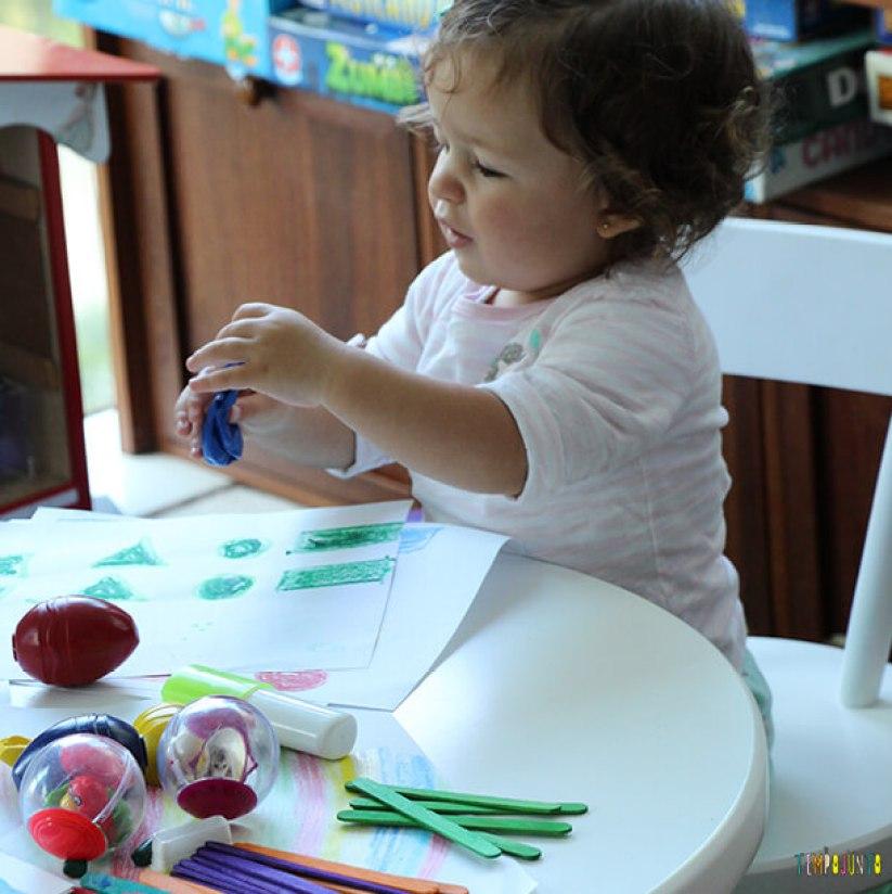 Maneiras divertidas de ensinar as cores - Gabi e as cores