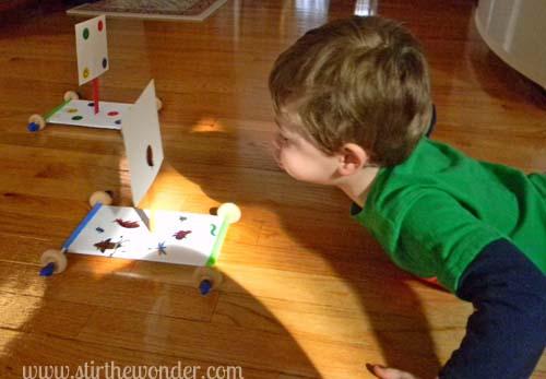 10 brinquedos para você fazer sem gastar dinheiro - carro de vento