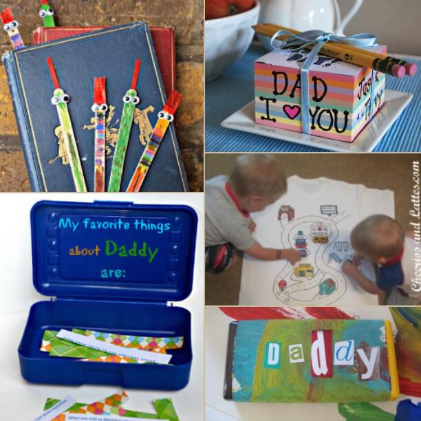 15 ideias de presentes feitos pelas crianças para o dia dos pais - 5 ideias de presentes