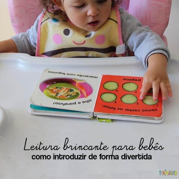 Leitura brincante para bebês