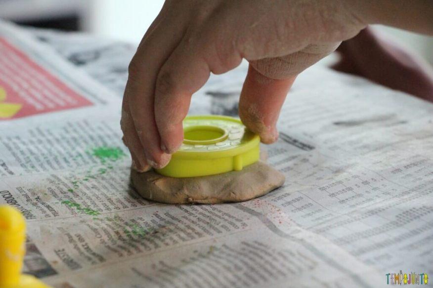 Presente feito em casa para o Dia dos Avós -usando o molde