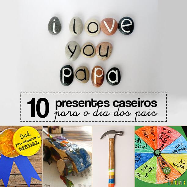 10 ideias de presentes caseiros para o Dia dos Pais