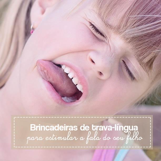 Brincadeiras de trava-língua para estimular a fala do seu filho