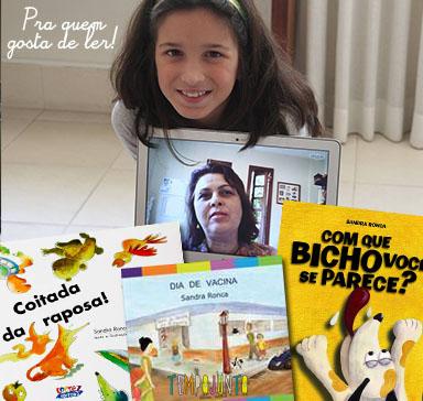 Brincar de leitura estimula o gosto pelos livros - Sandra Ronca