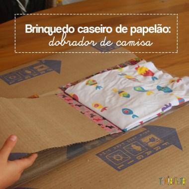 O brinquedo caseiro feito com caixa de papelão que você sempre quis