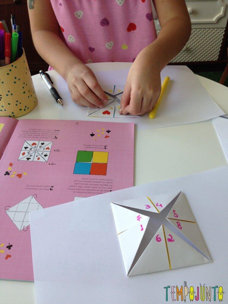10 ideias de atividades criativas para crianças usando papel - come come