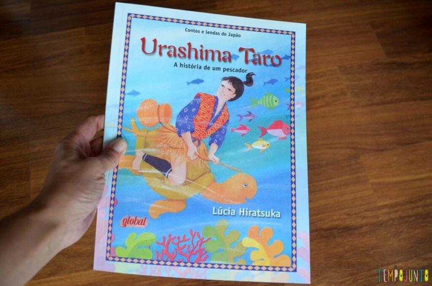 Livro Brincante- Lucia Hiratsuka - Memorias do oriente embaladas em contos infantis - capa urashima taro