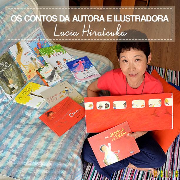 Livro Brincante: Lucia Hiratsuka – Memórias do oriente embaladas em contos infantis
