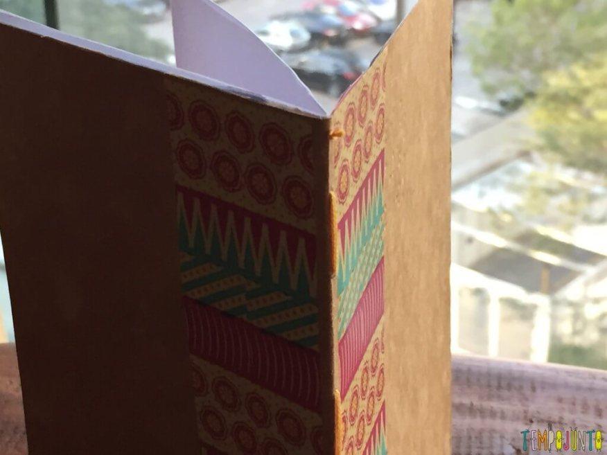 Presente artesanal para o Dia dos Professores - bloco