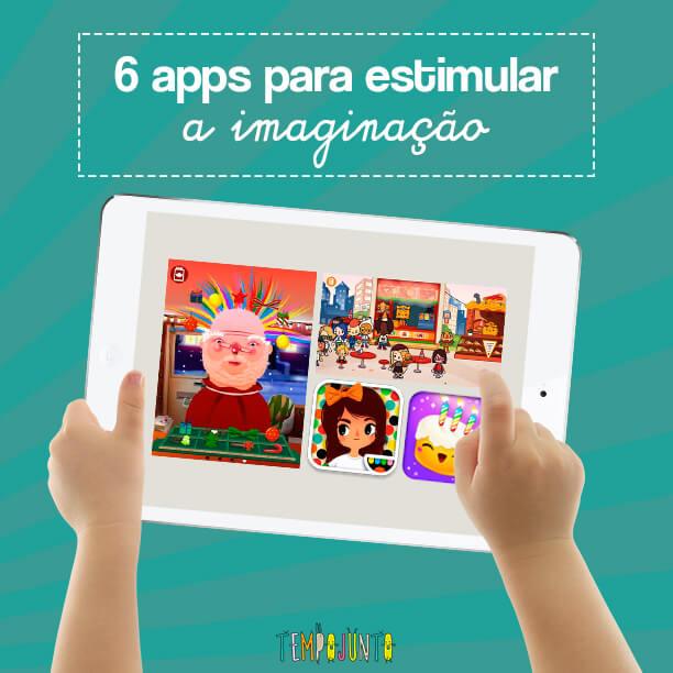 6 dicas de apps que estimulam a imaginacao capa